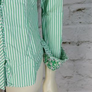 Lilly Pulitzer Tops - Lilly Pulitzer || Multi-Color Striped Button-Down